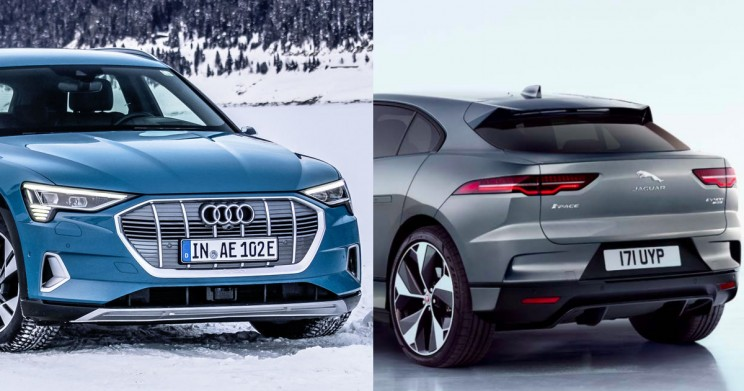 Audi's E-Tron and Jaguar's I-PACE Suffer Major Setback Due to Recalls