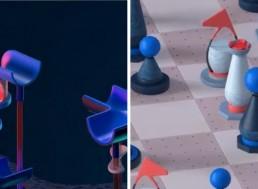 This 3D Artist Makes Live Moving Escher-Like Designs
