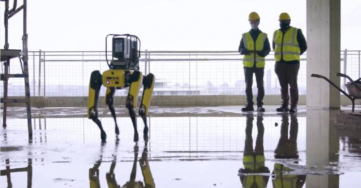 Boston Dynamics' Spot Is Now Optimizing Construction Sites