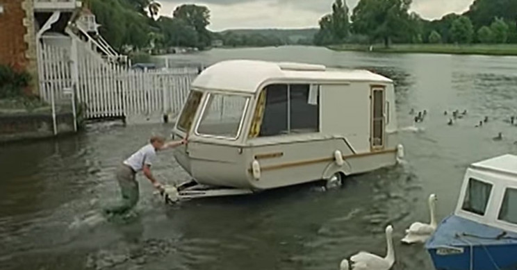 Introducing Caraboat, Caravan and Boat Hybrid From the 1960s