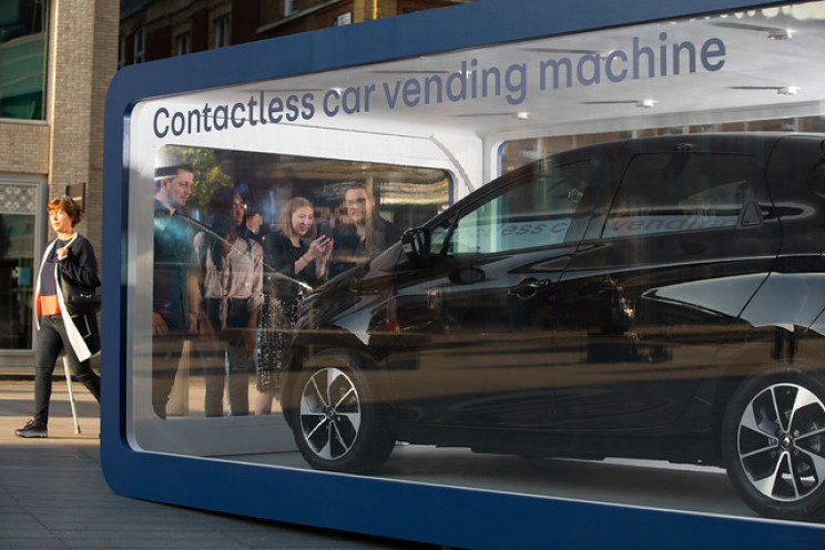 A Company Is Testing an Anxiety-Easing Car Vending Machine in London