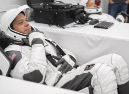 NASA Reveals Glimpse of New SpaceX Astronaut Suits