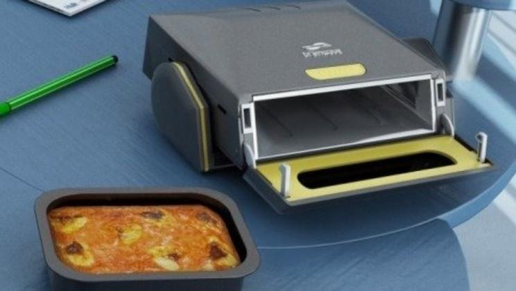 lazy inventions desktop microwave