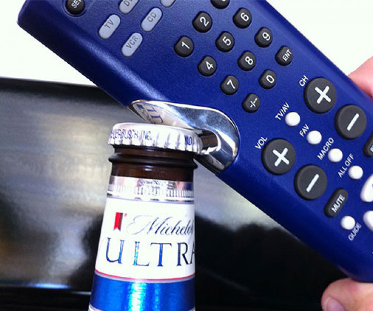 lazy inventions controller bottle opener