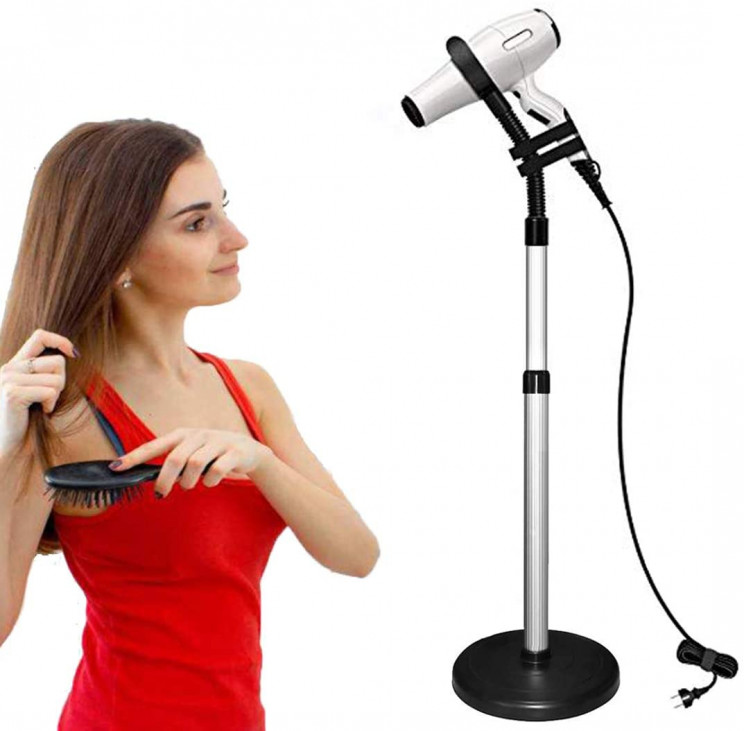 lazy inventions hair drier stand