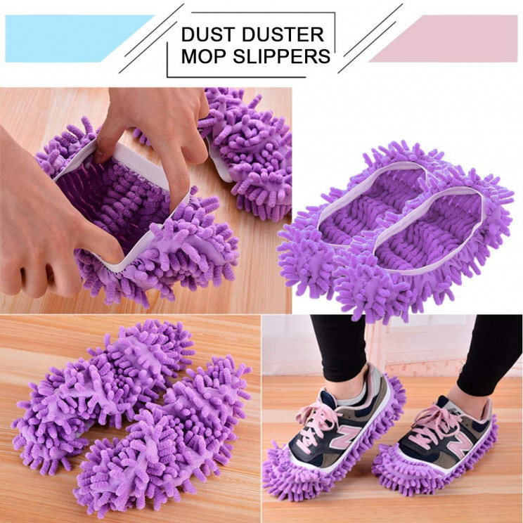 lazy inventions mop slippers