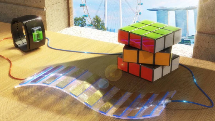 A Novel Solar-Powered Device Can Generate Electricity from Shadows