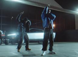 Cybertruck and Cyberquad Star in New Travis Scott Music Video