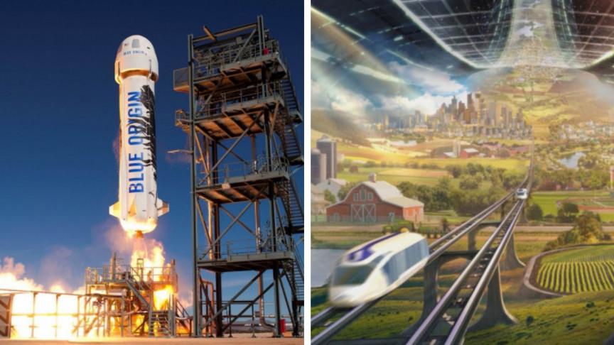 Jeff Bezos's Blue Origin Adds New Fuel to the Billionaire Space Race