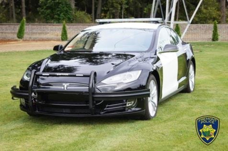 Tesla Vehicle Modified for Fremont Police Nearly Runs Out of Juice During Car Chase