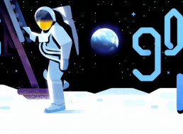 Google Doodle Celebrates the 50th Anniversary of the Historic Moon Landing