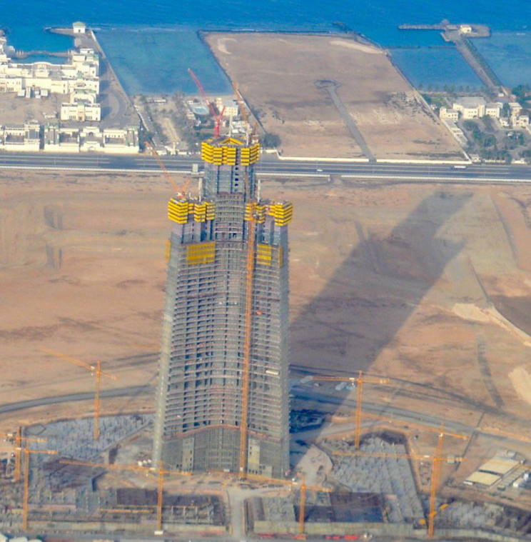 worlds tallest building Jeddah Tower