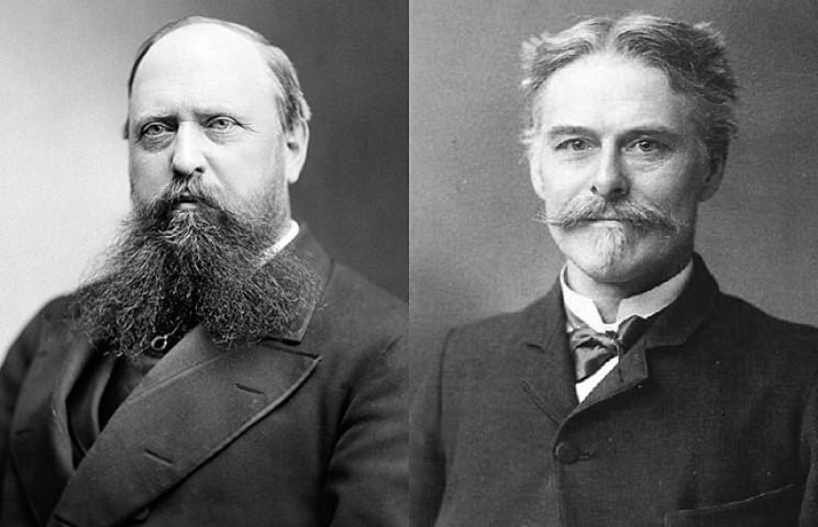 Othniel Marsh and Edward Cope
