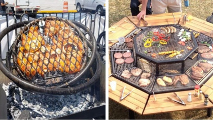 9 of the Most Interesting Grills You'll Ever See