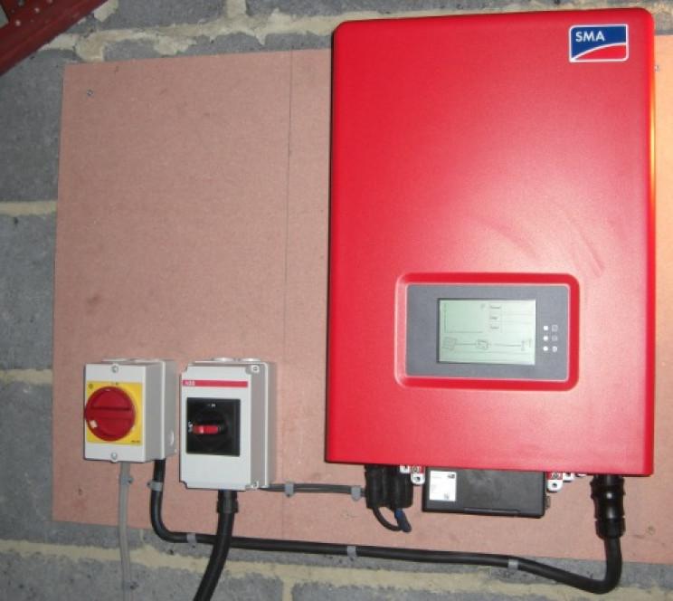 solar panel parts inverter
