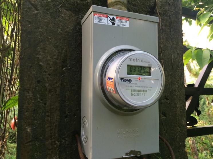 solar pv system meter