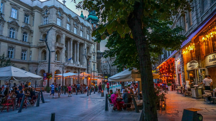 best european cities for graduates budapest