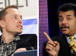 Neil deGrasse Tyson and Elon Musk in Twitter Standoff over Tesla's Cybertruck