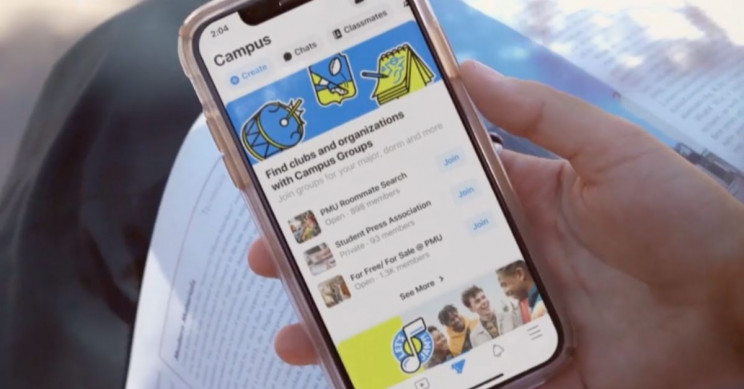 Facebook Launches College Student-Only 'Campus', Returns to Its Roots