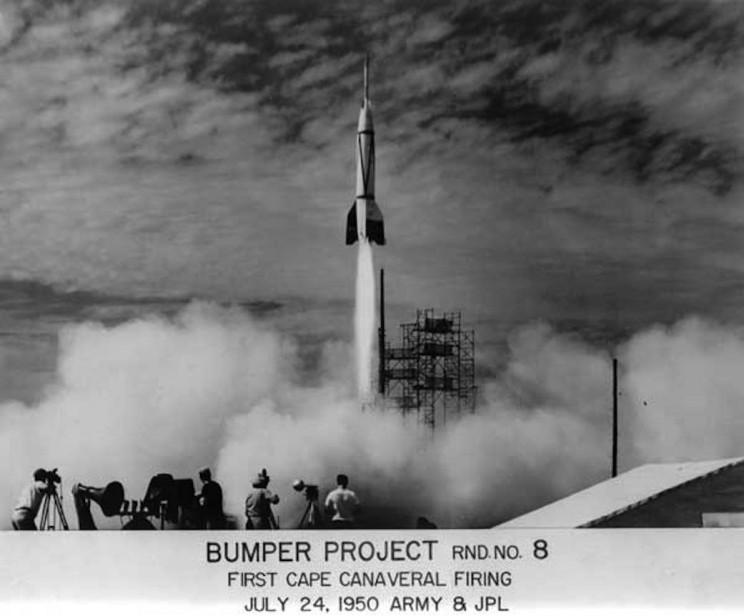 Nazi in space Bumper