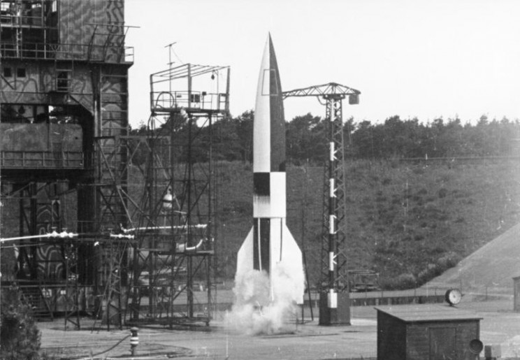 Nazi in space test launch