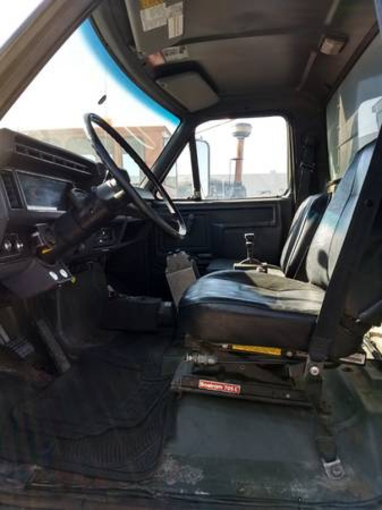 Guy Made a $54,500 Bullitt Mustang Dump Truck, It's for Sale on Craigslist