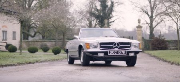 British Shop Creates the World's First Ever All-Electric Classic Mercedes Benz SL