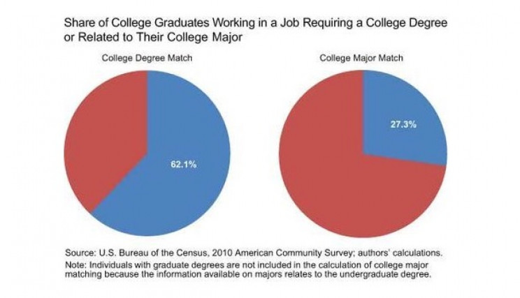 What Percentage of Engineering Graduates Actually Work in Their Respective Fields?