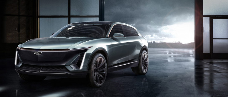 GM Cadillac All-Electric Vehicle Crossover