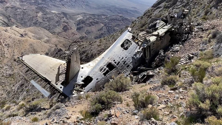 Hiker Goes on Hunt for Rare Plant, Finds Crashed Plane from 1952 Instead