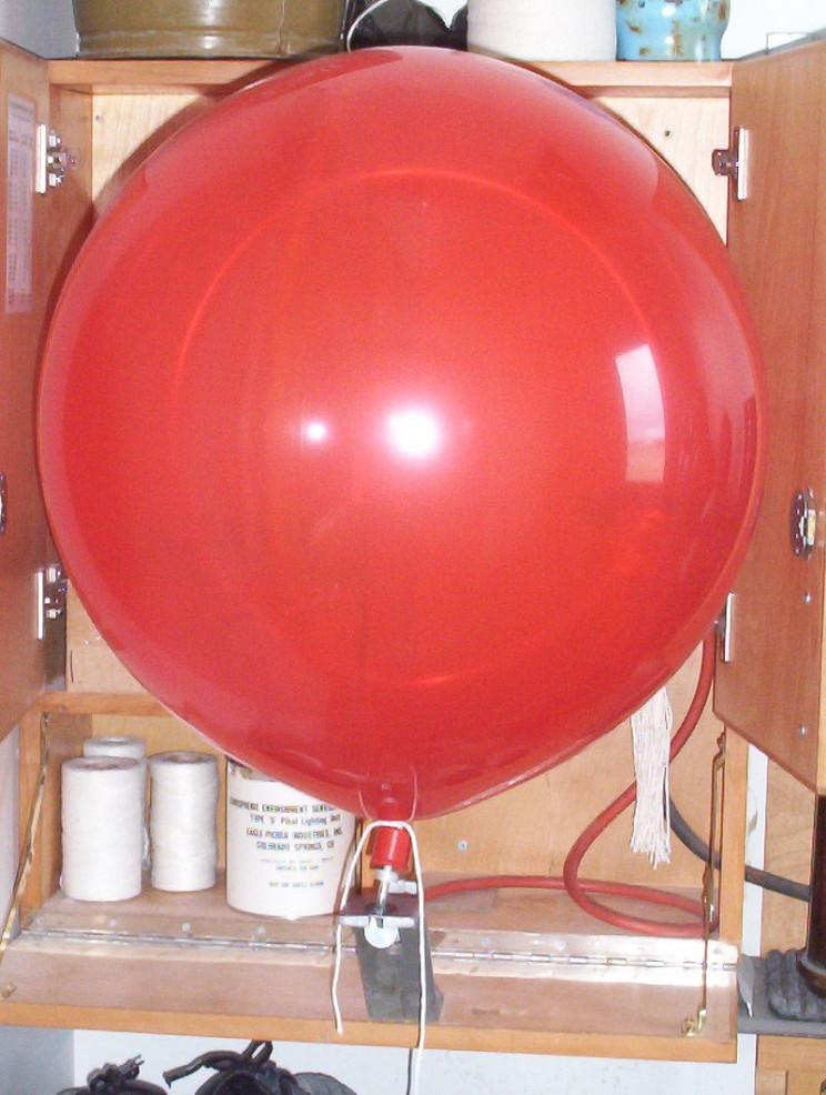 weather instrument ceiling balloon