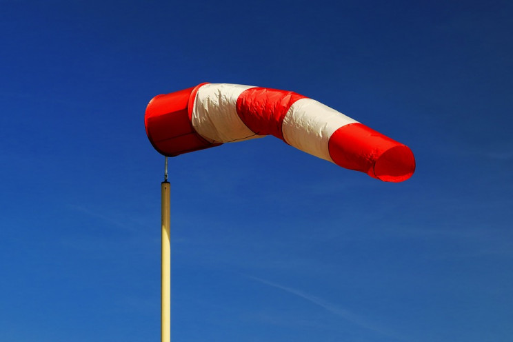 weather instruments windsock