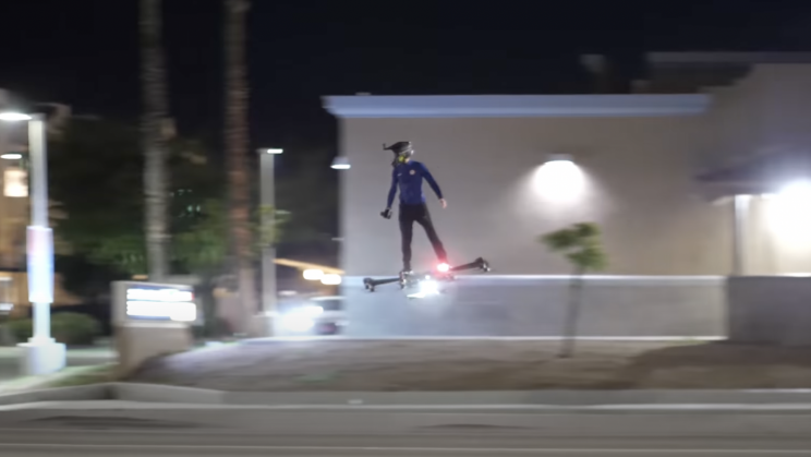 Drone-Like 'Hoverboard Aircraft' Lifts Off In Viral Videos