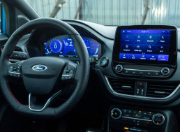 Ford Patents Tech to Display Ads Inside Cars' Infotainment Systems