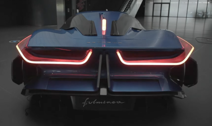 2,040-HP Electric Hypercar With Hybrid Battery Promises 323-Mile Range