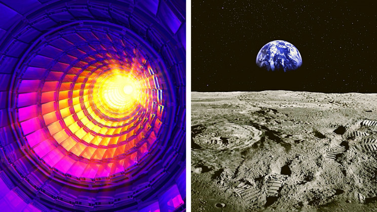 A Hadron Collider on the Moon Could Create 1,000 Times More Energy Than CERN