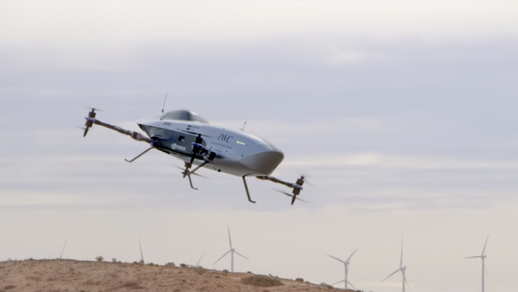 Electric Flying Race Car Makes Historic First Flight
