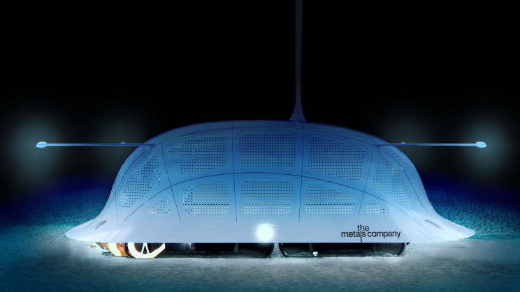 This Company Looks for EV Battery Components Under the Sea