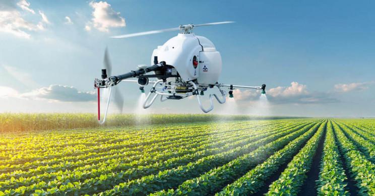 Spraying UAV Developed to Enhance Aerial Plant Protection