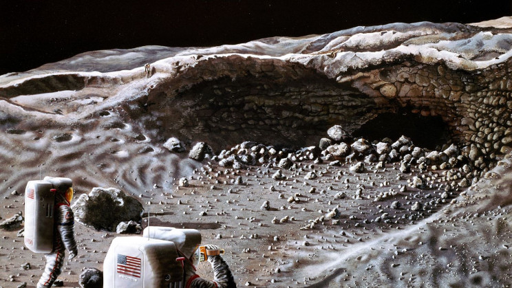 Engineers Propose Building 'Lunar Ark' In Moon's Lava Tubes