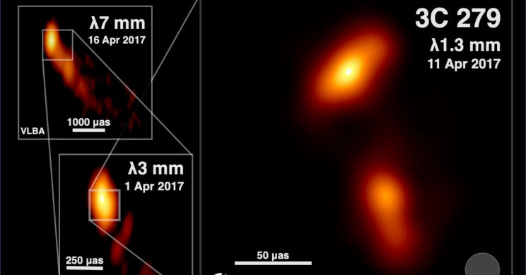 There Is Something Scary Lurking Inside Quasar 3C 279