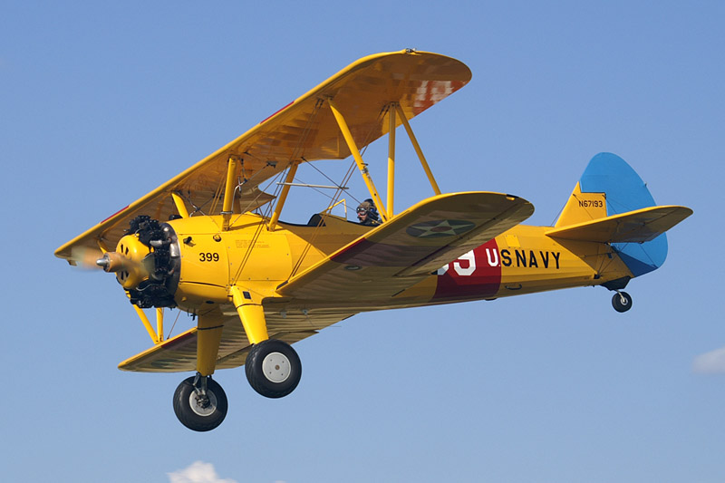 largest RC planes Stearman