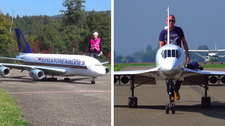 7+ Biggest RC Airplane Projects From All Around the World