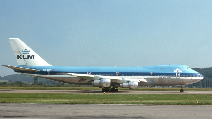 tenerife airport disaster KLM plane