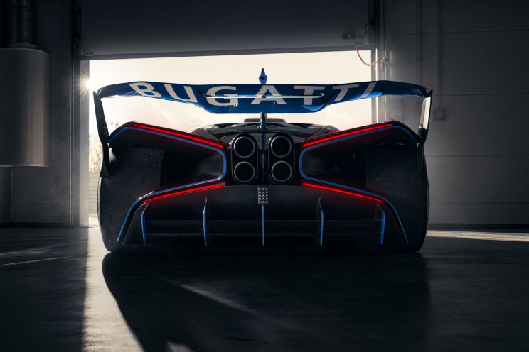 The Dreamy Bugatti Bolide's Images Are Here and They're Sleek