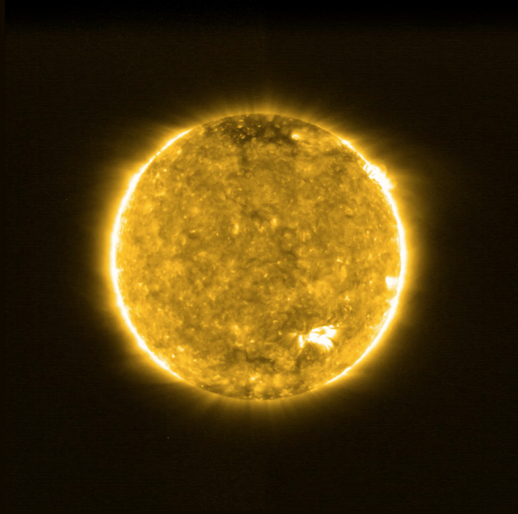 solar orbiter's first images from the Sun