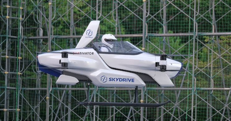 Watch As A Real Flying Car Takes Off With A Passenger