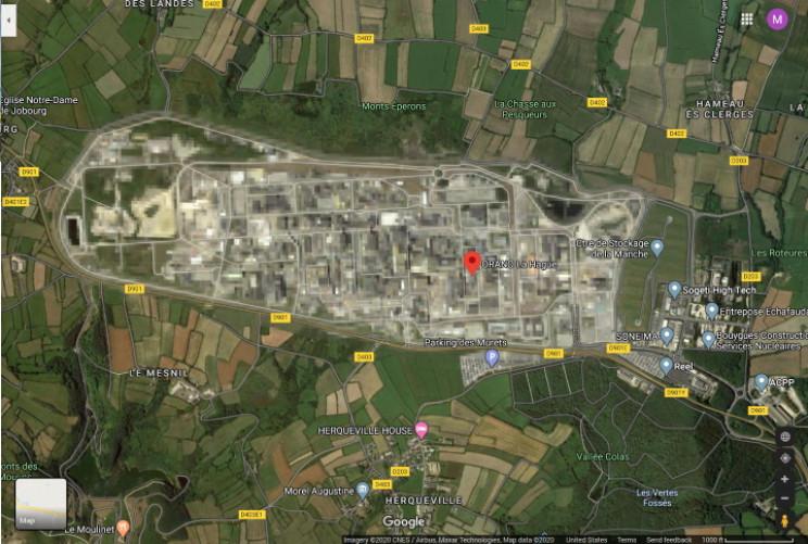 AREVA La Hague Nuclear Plant