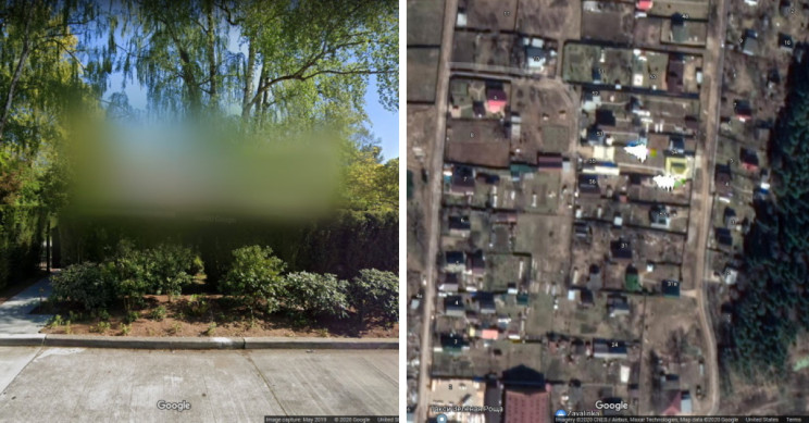 25 Places You Can't See on Google Maps or Google Street View