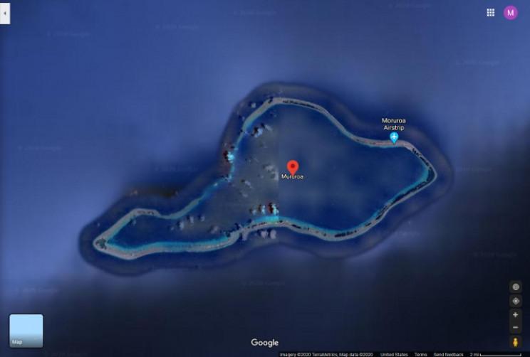 Moruroa Island
